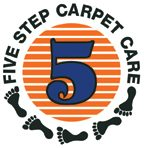 Five Step Carpet Care