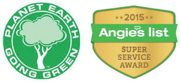 Planet Earth & Angie's List Logos