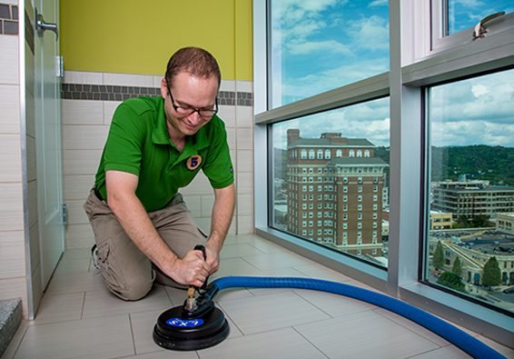 Asheville Tile and Grout Cleaning with Five Step Carpet Care