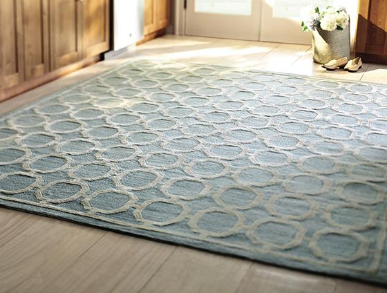 synthetic rug