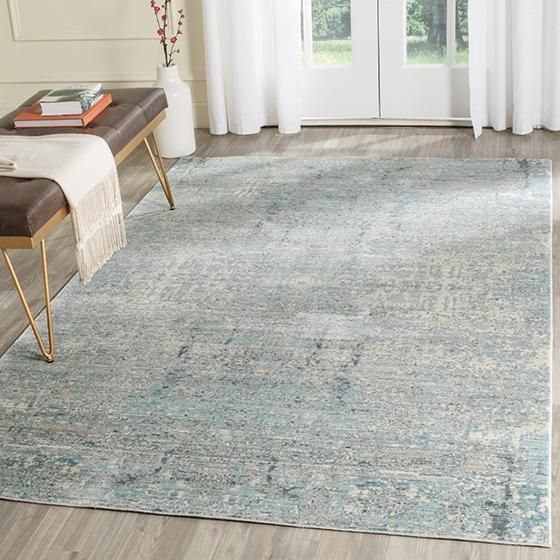 synthetic rug style