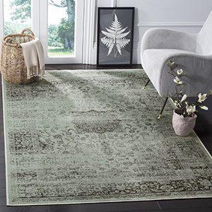 viscose rug style
