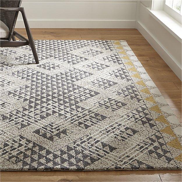 wool rug dining room
